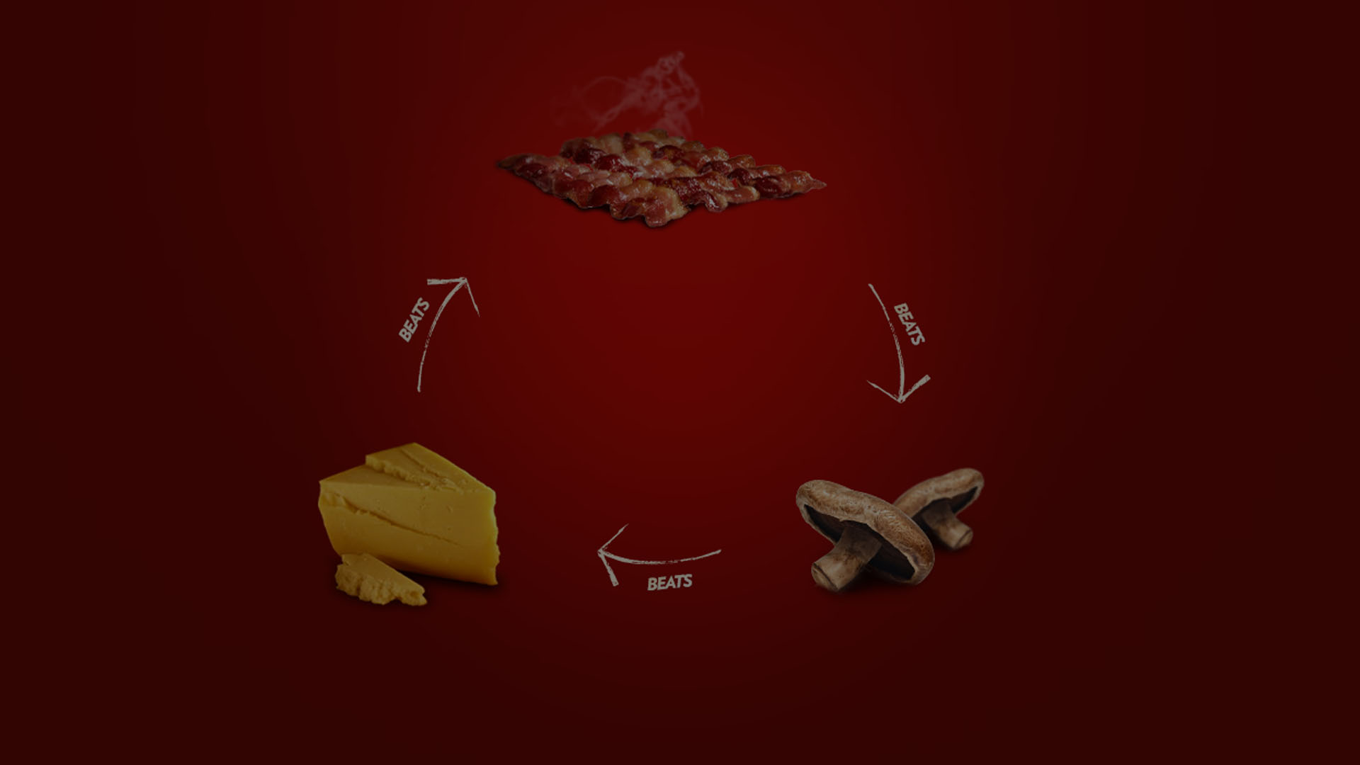 Bacon Mushroom Cheese The Game