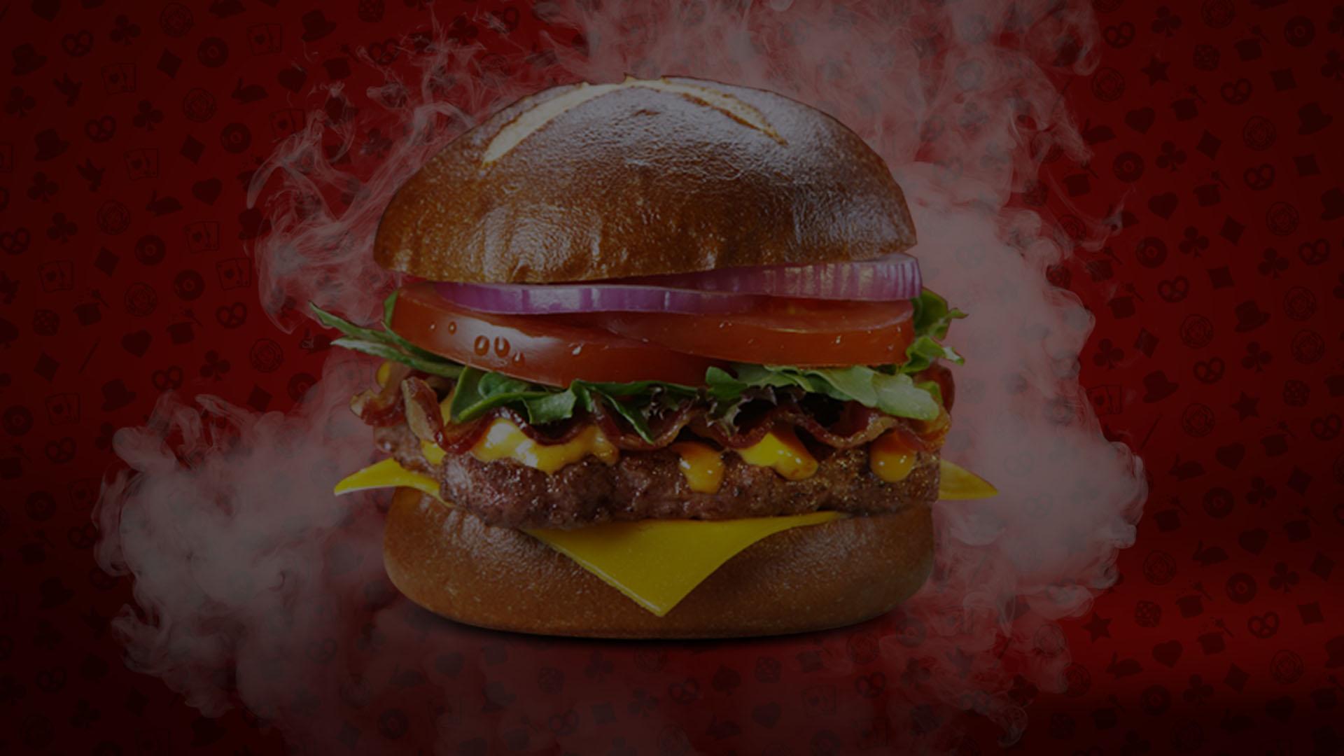Pretzel Burger Magic Show